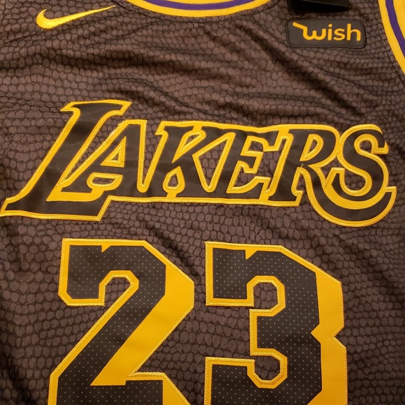 online store 8357b c739a Authentic lebron james Jersey lakers brand new NWT